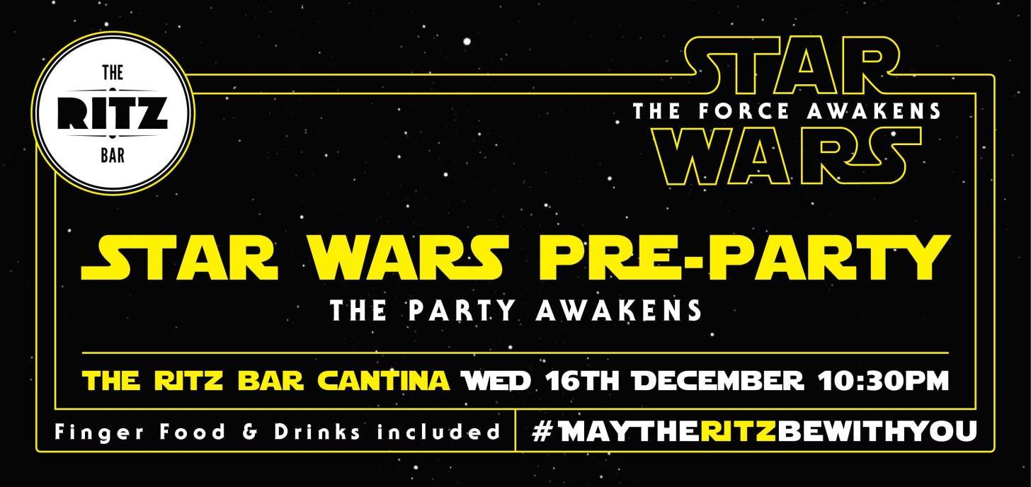 Star Wars Pre-Party!