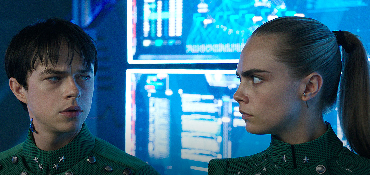 Now Showing: Valerian and the City of a Thousand