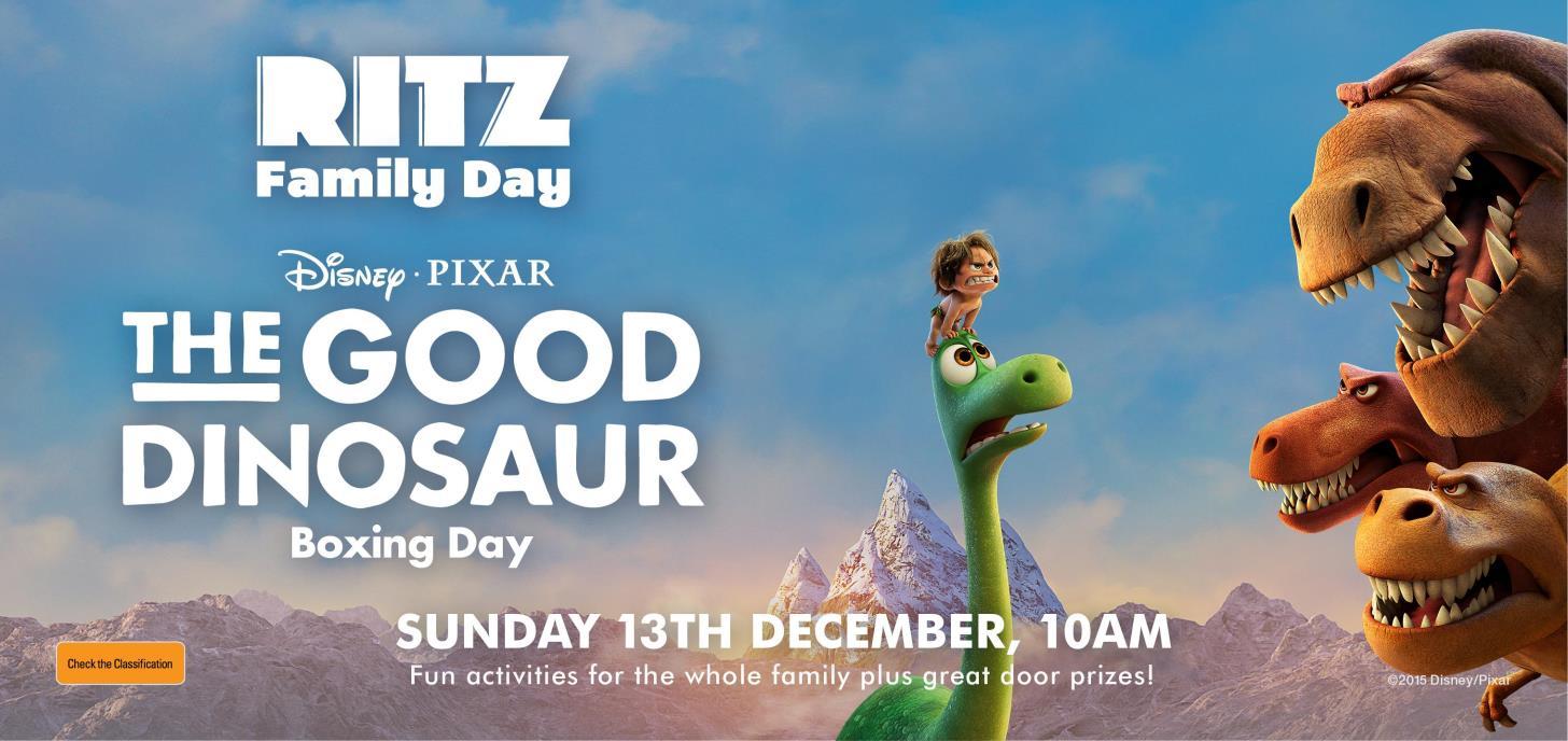 The Good Dinosaur Family Day