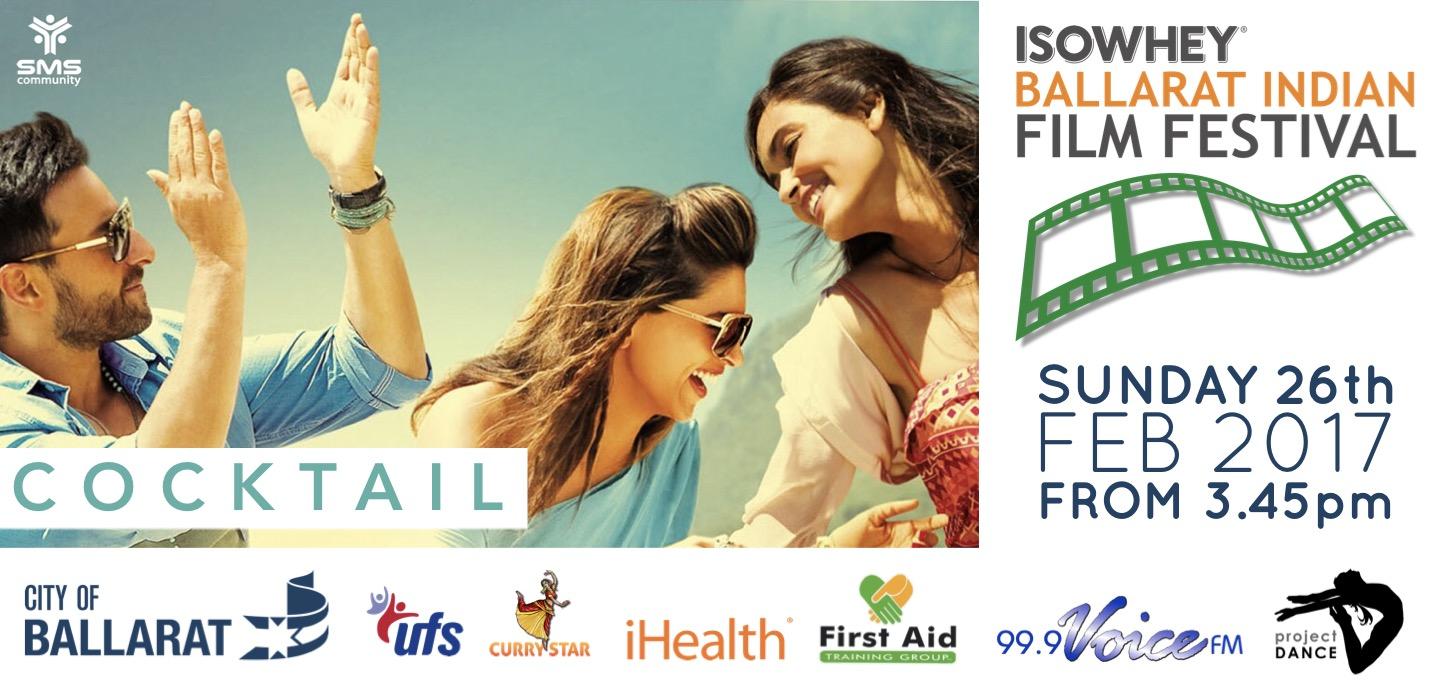 Isowhey Ballarat Indian Film Festival - Cocktail