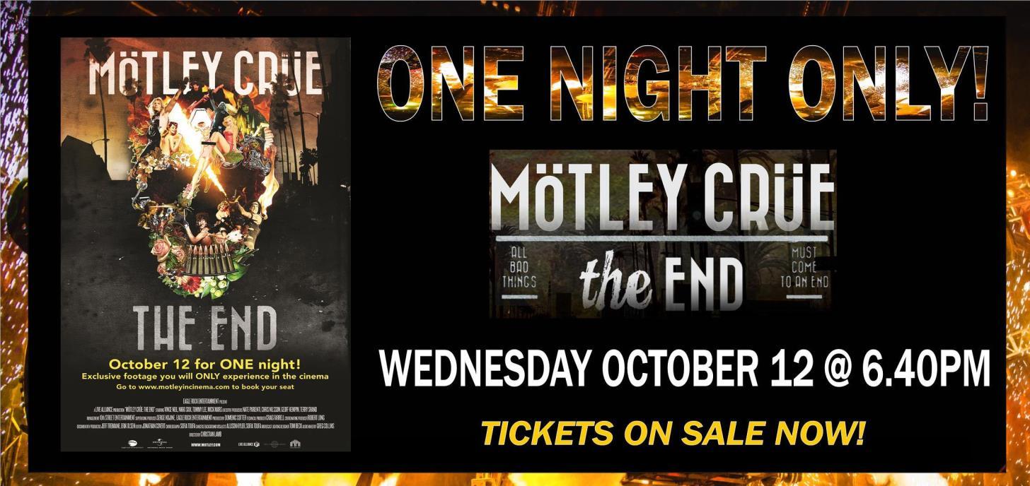 Motley Crue: The End