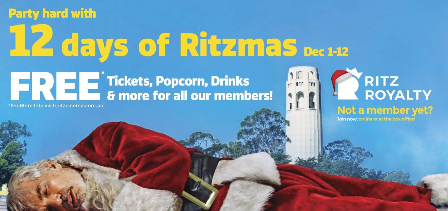 The 12 Days of Ritzmas