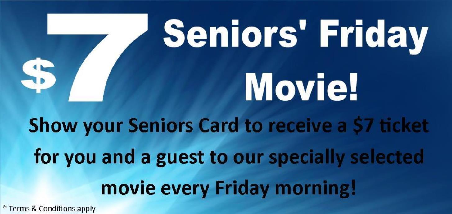 Seniors $7 Friday Session
